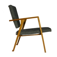 Franco Albini Very Rare Luisona Lounge Chair At 1Stdibs
