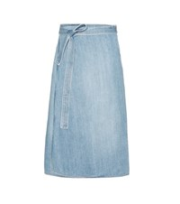 Citizens Of Humanity Donna Denim Wrap Skirt Blue