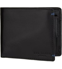 Ted Baker Maximus Leather Billfold Wallet Black