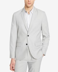 Kenneth Cole Reaction Men's End On End Two Button Sport Coat Pebble Combo