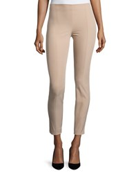 The Row Cosso Skinny Cropped Pants Amber Beige