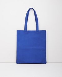 Isaac Reina Ultra Soft Tote Klein Blue