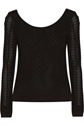 Temperley London Marquis Textured Knit Sweater