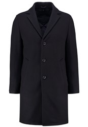 Dkny Classic Coat Deep Midnight Dark Blue
