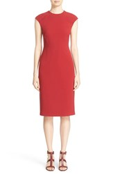 Lafayette 148 New York Women's 'Talon' Finesse Crepe Sheath Dress