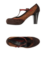 Emanuela Passeri Pumps Dark Brown