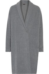 Cosabella Aosta Fleece Robe Gray