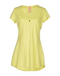 Met T Shirts Yellow