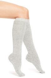 Women's Lemon 'Eyelash' Cotton Blend Knee High Socks