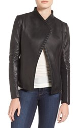 Mackage Women's Leather Jacket Black
