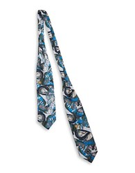 Bcbgeneration Butterfly Wrap Scarf Blue