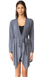 Commando Butter Lounge Cardigan Robe Admiral