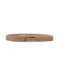 Gianfranco Ferre Gf Ferre' Belts Light Brown