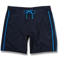 Marc By Marc Jacobs Contrast Trim Swim Shorts Blue