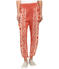 Billabong Midnight Whisper Pants Poppy Women's Casual Pants Red