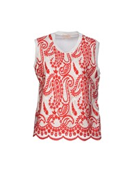 Giambattista Valli T Shirts Red