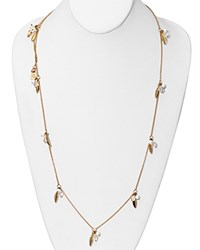 Lauren Ralph Lauren Pink Sands Station Necklace 36 Gold
