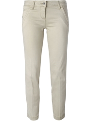 Jacob Cohen Cropped Slim Fit Trousers