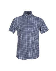 Sun 68 Shirts Shirts Men Slate Blue