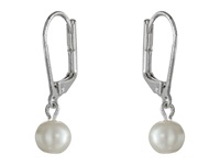 Lauren Ralph Lauren 8Mm Pearl Drop Earrings White Pearl Earring
