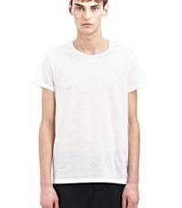 Acne Studios Basic Crew Neck T Shirt White