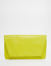 Matt And Nat Envelope Clutch Bag Yellow