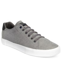Tommy Hilfiger Men's Pawley Low Top Chambray Sneakers Men's Shoes