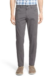 Nordstrom Men's Men's Shop Washed Five Pocket Pants Grey Shade