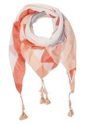 Evenandodd Scarf Nude Orange Blue