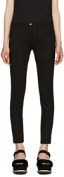 Miu Miu Black Slim Cropped Trousers