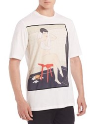 3.1 Phillip Lim Embroidered Tee Antique White