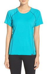 Patagonia Women's 'Capilene' Lightweight Tee Epic Blue