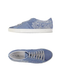 John Richmond Low Tops And Trainers Pastel Blue