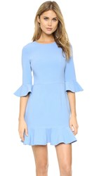Black Halo Brooklyn Mini Dress Twinkle Blue