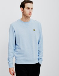Lyle And Scott Crew Neck Sweatshirt Blue