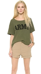 Nlst Army Tee Olive Drab With Graphic