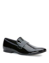 Calvin Klein Nemo Patent Leather Loafers Black