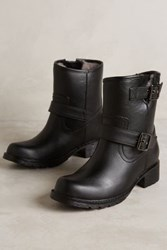 Anthropologie Jeffrey Campbell Clima Rain Boots Black 7 Boots