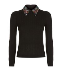 Alice Olivia Brooke Bird Collar Jumper Female Red