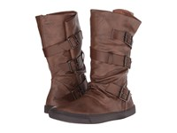 Blowfish Pie Whiskey Old Ranger Whiskey Pisa Pu Women's Pull On Boots Brown