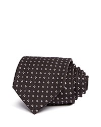Bloomingdale's The Men's Store At Small Florette Neat Classic Tie Charcoal