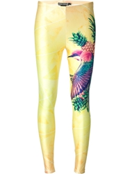 We Are Handsome Printed Leggings White