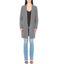 Rta Serge Open Front Cashmere Cardigan Space