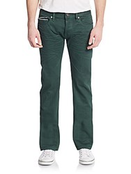 Cult Of Individuality Hagen Straight Leg Jeans Green