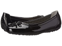 Geox Donna Piuma Ballerina 24 Black Women's Shoes
