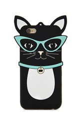 Forever 21 Cat Case For Iphone 6 6S Black White