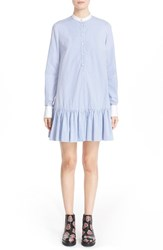 Alexander Mcqueen Women's Ruffle Shirtdress
