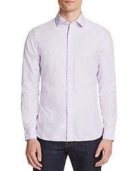 The Men's Store At Bloomingdale's Solid Classic Fit Button Down Shirt Lilac