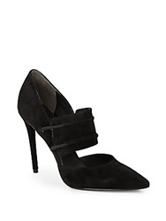 Kenneth Cole Water Suede Pumps Black