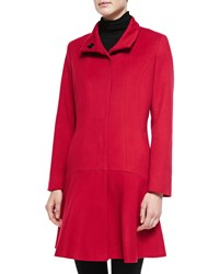 Sofia Cashmere Wool Cashmere Princess Flared Coat